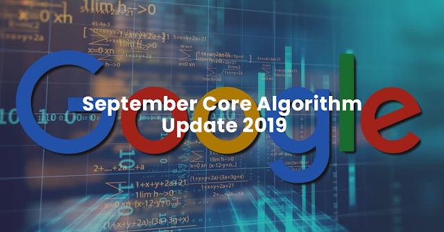 September Core Update 2019