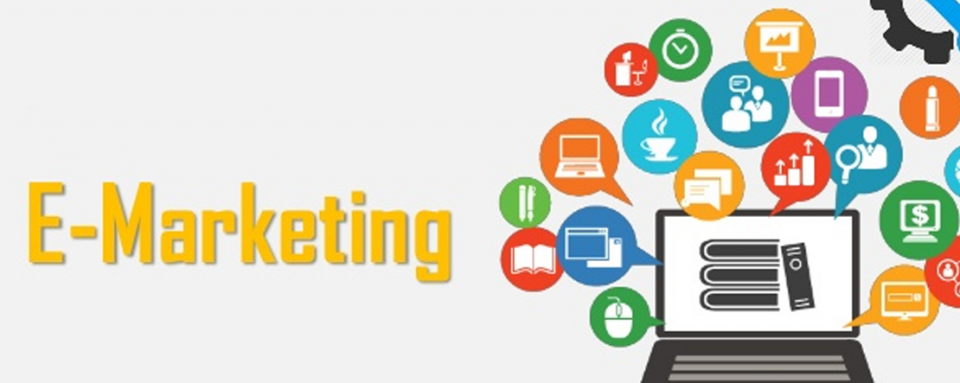 What is e-marketing in digital marketing?